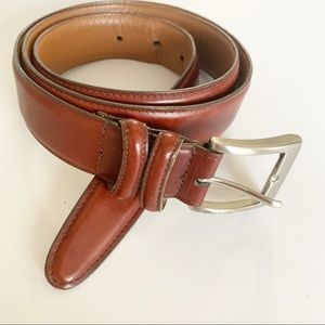 Allen Edmonds | Cognac Leather Belt